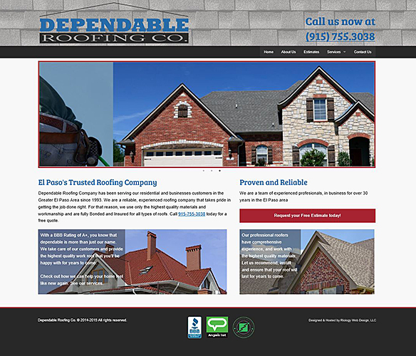Dependable Roofing, Co.