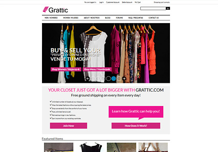 Link to Grattic's web site by Riology I.T. Solutions, LLC The Ecommerce Web site speicailists