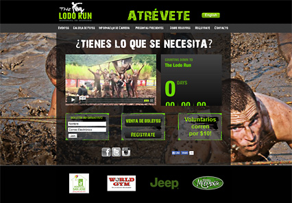 Link to The Lodo Run's Website designed and hosted by Riology Web Design in El Paso